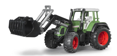 Трактор Fendt Favorit 926 Vario с погрузчиком, 1:16, Bruder