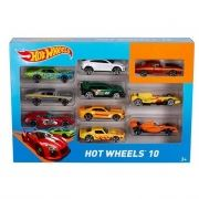 Автомобиль базовый Hot Wheels 10 шт (54886)
