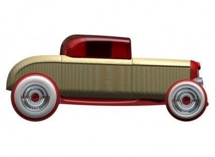 Машинки Машина AUTOMOBLOX Мини ретро авто Hot Rod HR1 mini (55112) 2