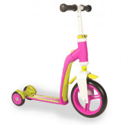 Самокат Scoot and Ride серии Highwaybaby+ розово-желтый (SR-216272-PINK-YELLOW)