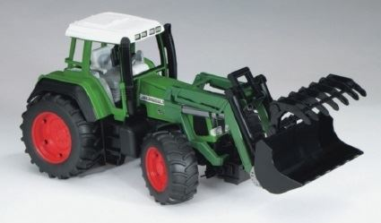 Машинки Машинка Bruder Трактор Fendt Favorit 926 Vario с погрузчиком (02062)					 1