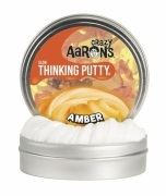 Жвачка для рук Crazy Aarons Thinking Putty Янтарь, 90 г (AM020)