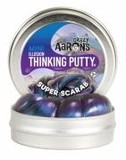 Жвачка для рук Crazy Aarons Thinking Putty Скарабей, мини (SC003)
