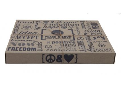 Конструкторы Конструктор WOODEN STORY Peace and Love, 29 блока (WS07) 2