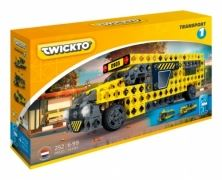 Конструктор Twickto Transport 1 (автобус, трамвай, локомотив), 252 детали (6413972)